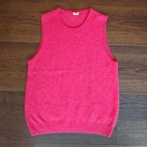J. Crew 100% cashmere vest
